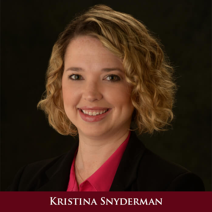 Kristina Snyderman, Esq.
